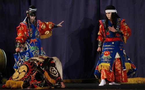 飯南神楽団 日本武尊4