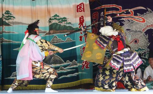 岡崎神楽社中 弁慶3