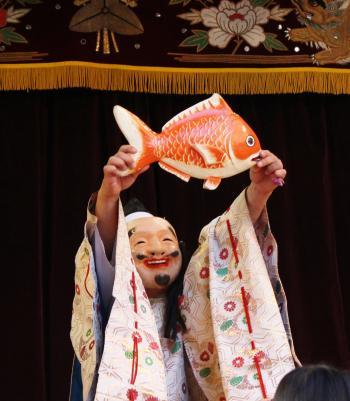 三谷神楽団 恵比須4