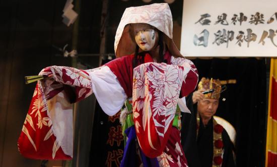 日脚神代神楽社中 黒塚1
