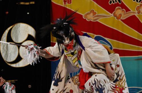 日脚神代神楽社中 黒塚4