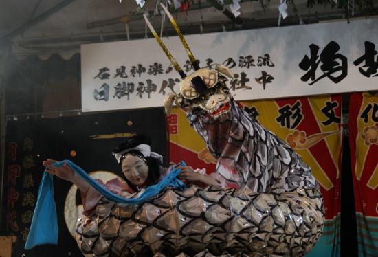日脚神代神楽社中 大蛇1