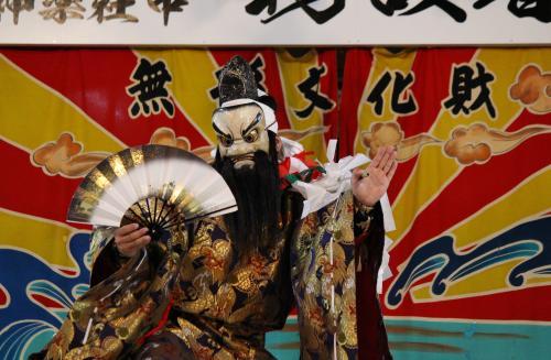 日脚神代神楽社中 大蛇2
