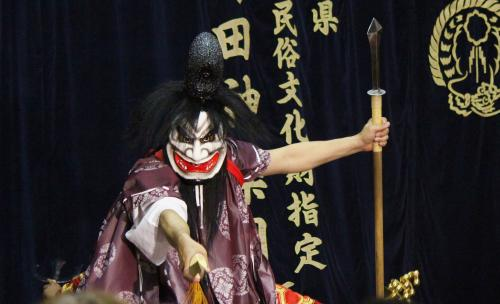 有田神楽団 磐戸2