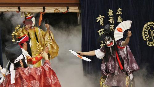 有田神楽団 磐戸3