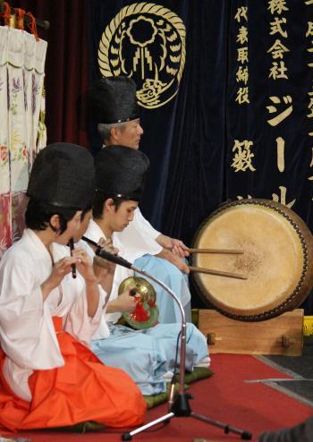 河津原神楽団 注連口6
