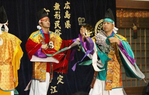 河津原神楽団 注連口7