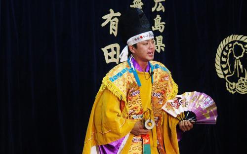 河津原神楽団 注連口9