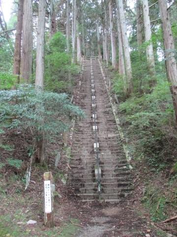 本瀧寺 参道石段
