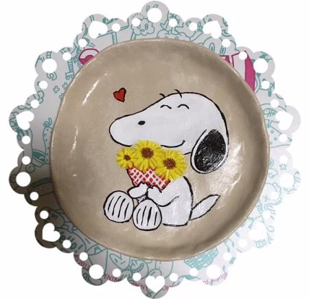 スヌーピー皿2