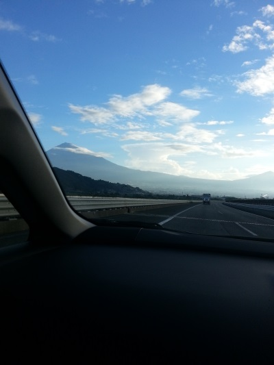9月4日の富士山①