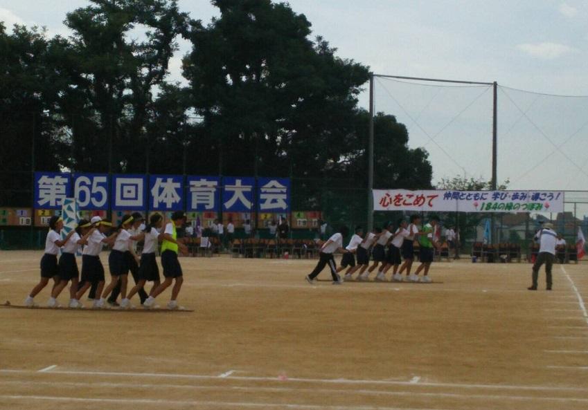 1609 中学校体育祭