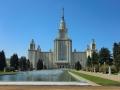 スターリン建築のモスクワ大学