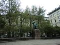 チャイコフスキー像があるモスクワ国立音楽院