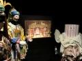 『仮面舞踏会』の舞台模型と衣裳