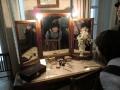 スタニスラフスキーの妻リリナの化粧前