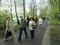 ユーゴザーパドナヤ駅から劇場までの並木道