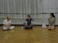 ブラーゴ先生(中央)、ディーさん(右)、堀江所長