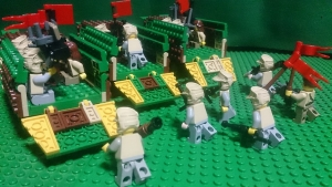 鉄牛号に乗り込む自動車化狙撃兵たち