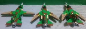 惨撃-23の可変翼比較