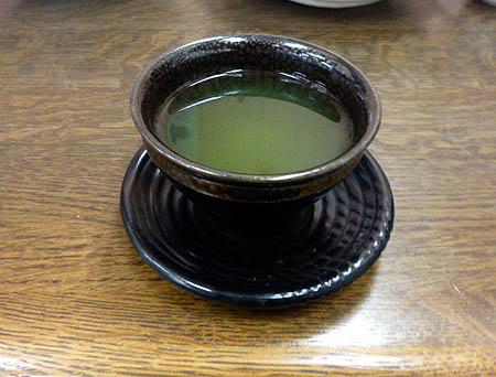 今日は美味しい日本茶