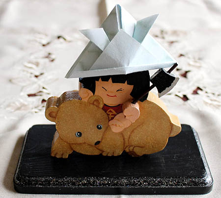 ト-ルペイント五月人形1