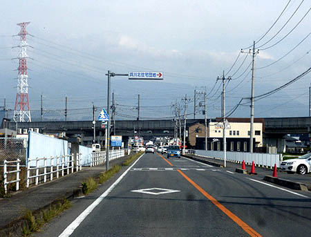 うっすら榛名&新幹線高架