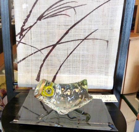 ガラス鯉のぼり