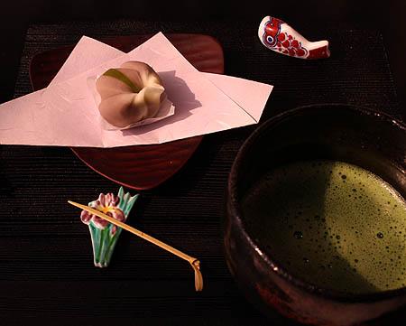 菖蒲・抹茶