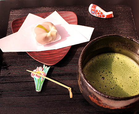 抹茶&菖蒲