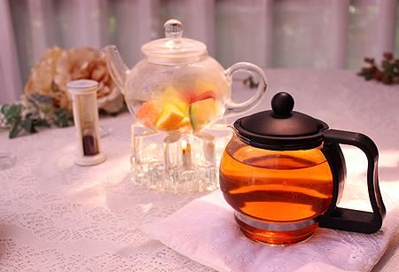 F ポットティ-茶葉は別抽出