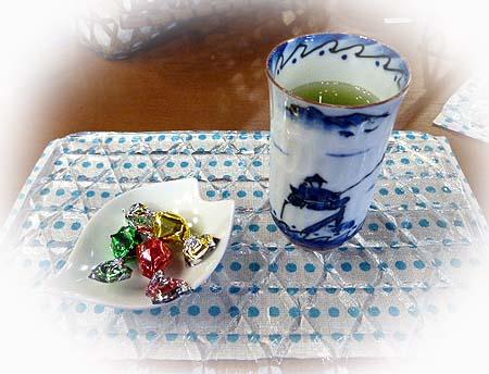 今日は日本茶