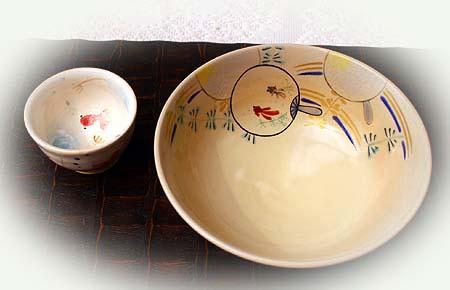 お抹茶茶碗 夏用 のコピー