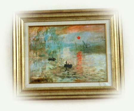 休憩室の絵画