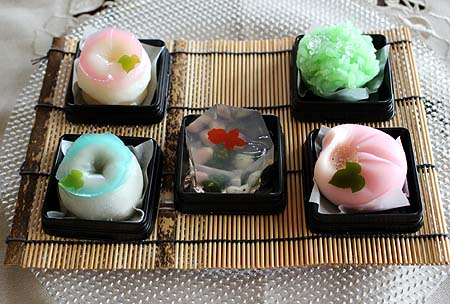 季節の和菓子1
