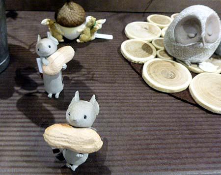 陶器ネズミ