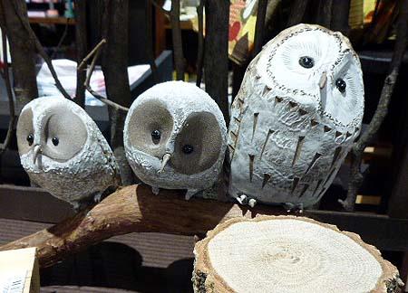 陶器フクロウ