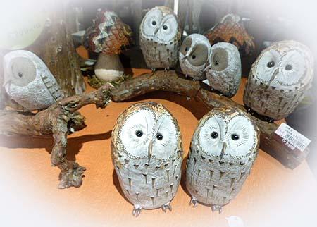 陶器フクロウ1