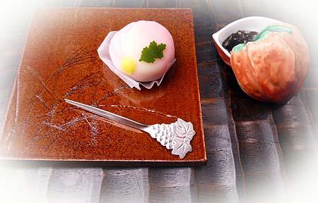 菊生菓子・胡麻昆布