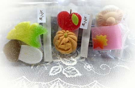 季節の干菓子