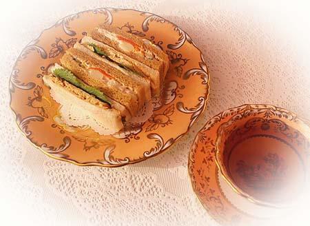 スモ-クチキン・サラダサンド のコピー