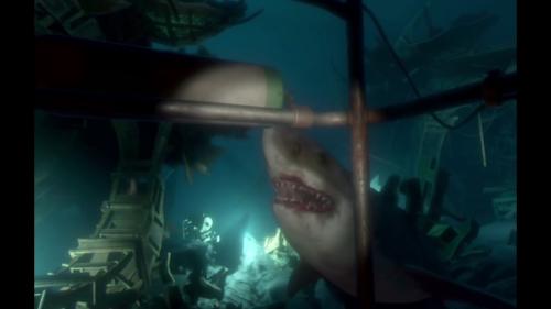 PSVR体験会 ソニーストア名古屋にサメ出没!食われるかと思った-40
