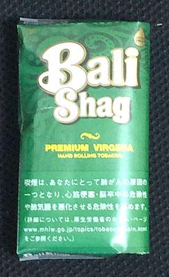 Bali Shag PREMIUM VIRGINIA, Bali Shag, バリシャグ・プレミアムバージニア バリシャグ バージニアブレンド 手巻きタバコ RYO