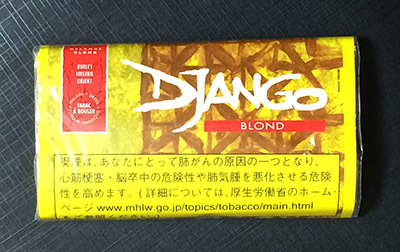 DJANGO_BLOND DJANGO ジャンゴ ジャンゴ・ブロンド 手巻きタバコ アメリカンブレンド RYO