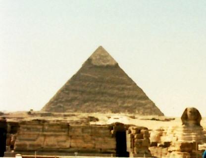 神々のライン 004(第2ピラミッドとスフィンクス)
