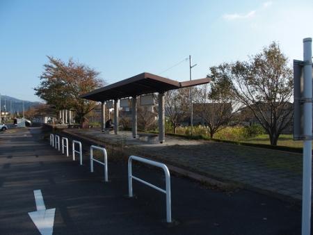 旧筑波駅ホーム1