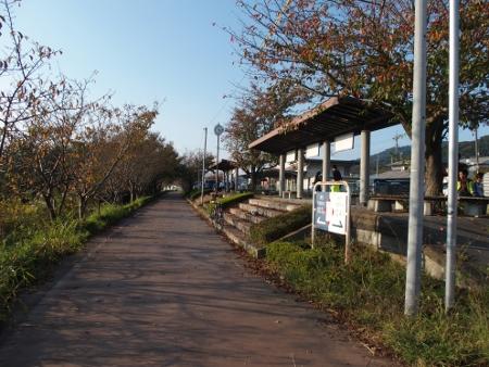 旧筑波駅ホーム2