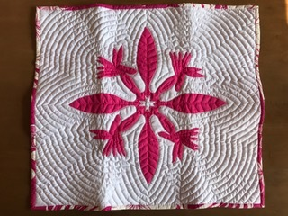 quilt bird of paradice