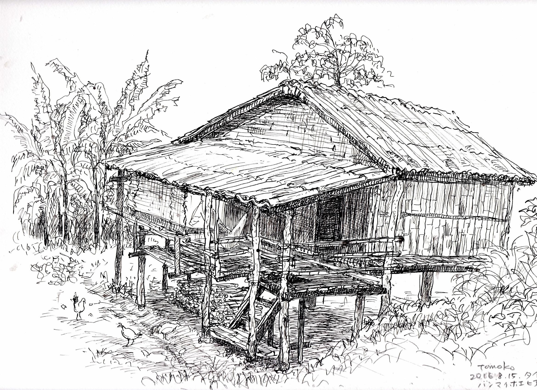 竹と木の家 ➁