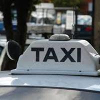 タクシーの標識